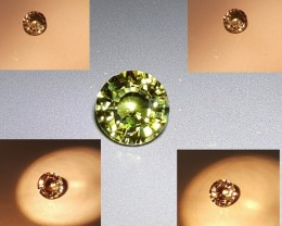 EXTREMELY RARE UNHEATED CERTIFIED 1.38 CTS NATURAL BEAUTIFUL ALEXANDRITE SR