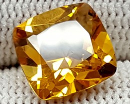 3.45CT MADEIRA CITRINE BEST QUALITY GEMSTONE IGC17