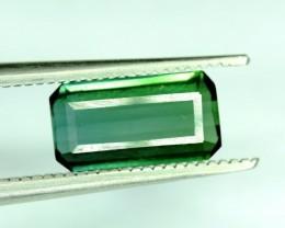 No Reserve  - 1.20 carats Beautifull Bluish Green Afghan Tourmaline gemston