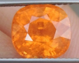 "4.67cts Glowing ""Fanta""  Spessartite,  Wow Stone"