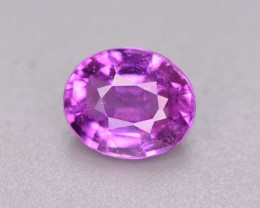 GIL Certified 1.08 Ct Gorgeous Quality Natural Pink Sapphire