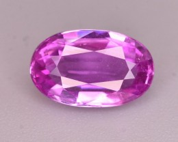 GIL Certified 1.52 Ct Gorgeous Color Natural Pink Sapphire