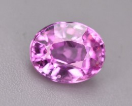 GIL Certified Marvelous Color 1.16 Ct Natural Pink Sapphire