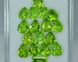 18.23 Cts Fabulous Attractive Peridot Parcel