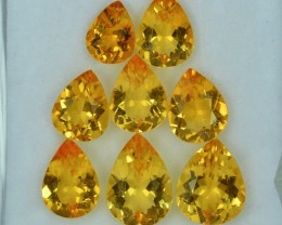 11.71 Cts Wonderful Attractive Citrine Parcel