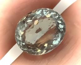 5.80CT Shimmering  Cut Green Amethyst  (Prasiolite) - NO RESERVE AUCTION