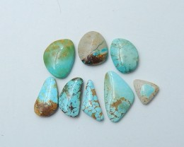 63.5ct Lucky Turquoise, Handmade Gemstone, Turquoise Cabochons, Lucky Stone