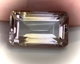 5.97ct Pale Pastel Ametrine VVS Quality stone - NR