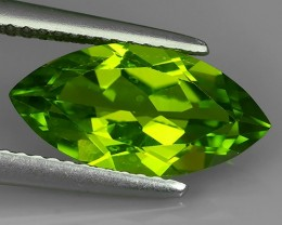 2.85  Cts.Magnificient Top Sparkling Intense Green Peridot