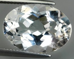 15.40 CTS DELUXE REAL WHITE TOPAZ OVAL 18X13 UNHEATED
