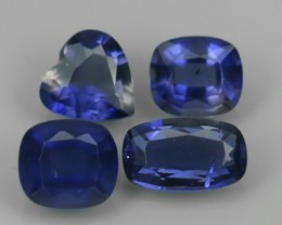 GENUINE 3.40 CTS  NATURAL100% UNHEATED OVAL IOLITE FACETTED