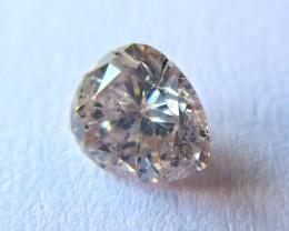 GIL Certified Natural Pink Diamond - 0.24 ct