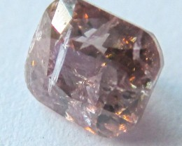 GIL Certified Natural Fancy Vivid Pink Diamond - 0.20 ct