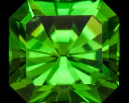 1.03 ct CHROME TOURMALINE - MASTER CUT! LOUPE CLEAN!