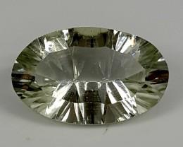 5.70Crt Prasolite Special Cut  Best Grade Gemstones JI115