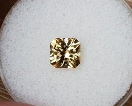 2,78ct Yellow Zircon - Master cut!