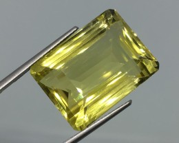 28.06 Carat IF Lemon Quartz - Stunning Cut and Quality !