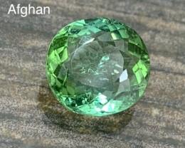 4.60 cts Apple Green Tourmaline - Afghan - #1