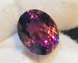 13.6 Ct Master Cut Amethyst AAA+ Quality Amazing Color