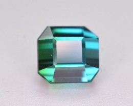 AAA Color 2.80 Ct Bi Color Natural Indicolite Tourmaline