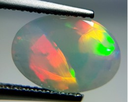 1.90ct Awesome Oval Cut Untreated Natural Ethiopian Fire Opal