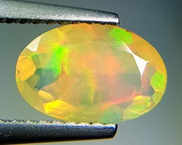 0.96 ct Marvelous Oval Cut Untreated Natural Ethiopian Fire Opal