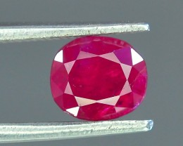 1.35 ct Natural Ruby ~ Jagdalek Afghanistan