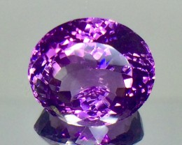 13.23 Crt Natural Amethyst Faceted Gemstone.( AG 73)