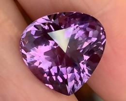 Incredibly beautiful Pink Lilac Unique Cut Amethyst 12.69cts VVS gem