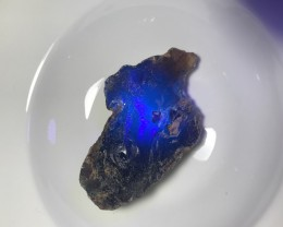 296 gram Indonesian Blue Amber AAA+ Quality Cherry Color