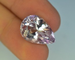 10.25 ct Natural Untreated Kunzite from Afghanistan