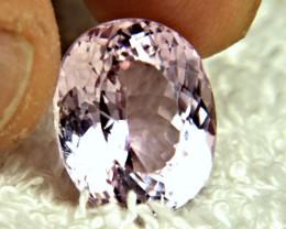 13.5 Carat VVS Himalayan Pink Kunzite - Gorgeous