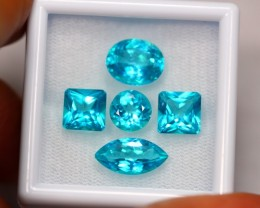 16.60ct Paraiba Colour Topaz Mix Cut Mix Size Lot V2658