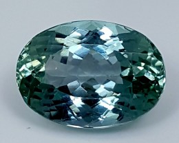 9.75Crt Green Spodumene  Best Grade Gemstones JI116