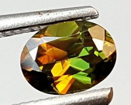 0.50Crt Chrome Sphene  Best Grade Gemstones JI116