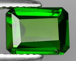 1.50 CTS NATURAL ULTRA RARE CHROME TOP GREEN DIOPSIDE RUSSIA~