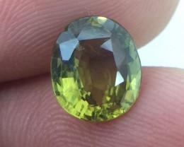 (B3) GFCO Certified Stunning 1.97ct Natural Alexandrite Very RARE!