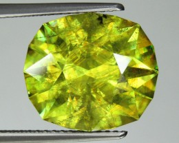 9.50 CTS UNHEATED NATURAL ULTRA RARE CUTTING MULTI TOP GREEN COLOR SPHENE