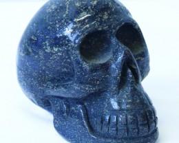 1.10Kilo Lapis Lazuli  hand carved Skull  WS 515