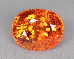 6.55 Cts Fabulous Beautiful Fanta Orange Natural Spessartite Garnet