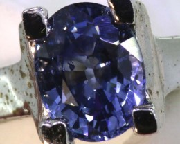 18.30-CTS  BLUE SAPPHIRE RING   SG-2772
