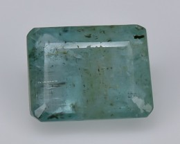2.04 Crt Emerald Faceted Gemstone (R49)