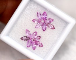Lot 13 ~ 2.25Ct Natural Ceylon Marquise Cut Pink Sapphire Lot