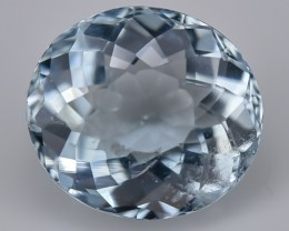 2.04 Crt Aquamarine Faceted Gemstone (R49)