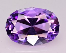 20.80  Ct Amazing Color Natural Amethyst ~ Uruguay AM1