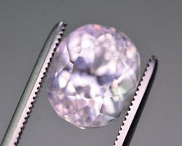 Untreated 4.95 Ct Natural Kunzite. RA