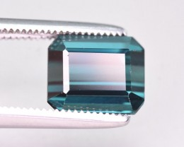 2.55 Ct Gorgeous Color Natural Indicolite Tourmaline. RA