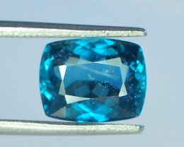 2.05 ct Natural Dark Blue Indicolite Tourmaline