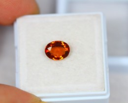1.50ct Hessonite Garnet Oval Cut Lot V2671