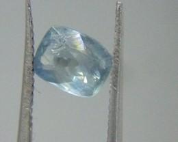 IGI Certified 1.50ct  Blue Ceylon Sapphire , 100% Natural Untreated Gemston